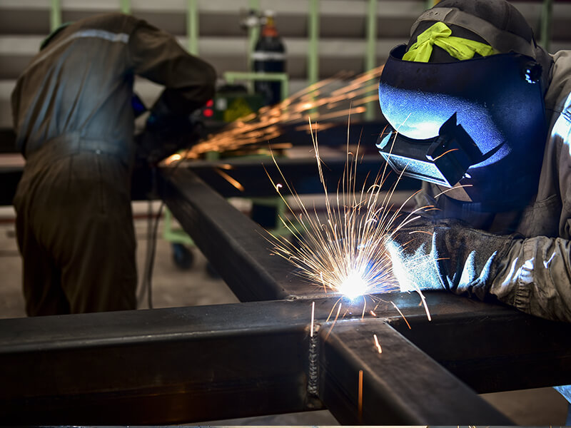 Onsite Steel Fabrication Services - Nicholls Steel
